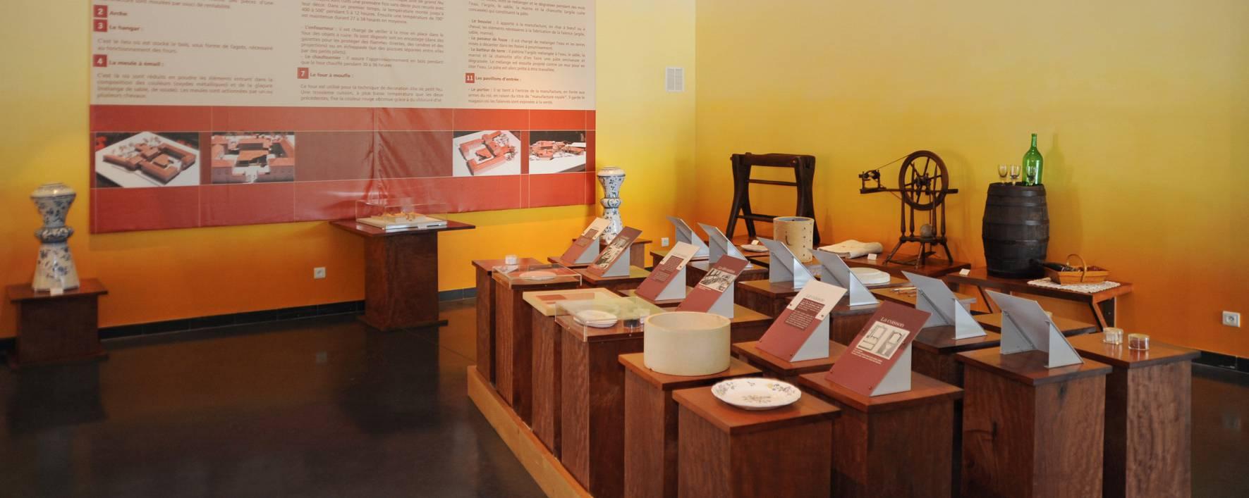 Le Musée de la faïence et des arts de la Table
