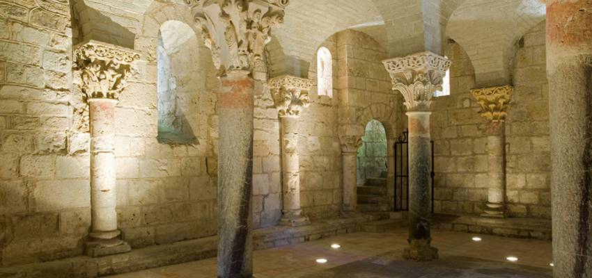 Hagetmau, ville fleurie, sportive et sa Crypte de St Girons