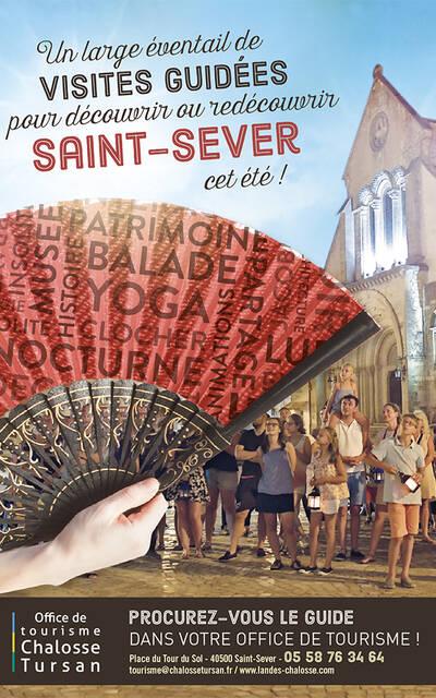 Programme des visites guidées de Saint-Sever Chalosse Tursan