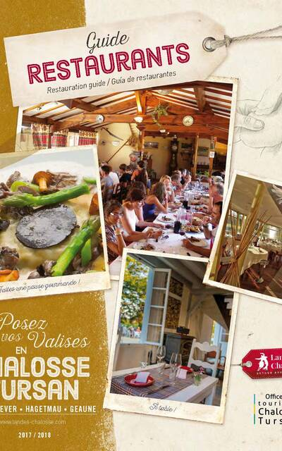 Guide restaurants Chalosse Tursan