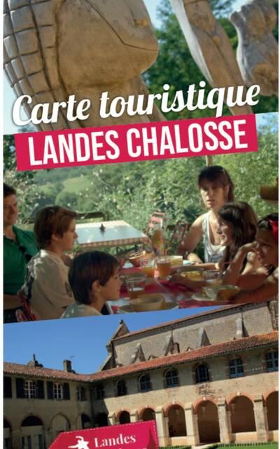 Carte touristique Landes Chalosse