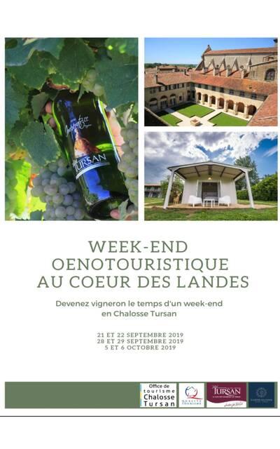 Week-end oenotouristique en Tursan