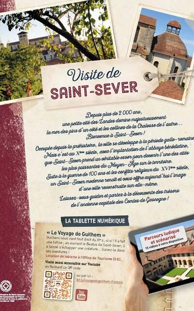 Visite de Saint-Sever