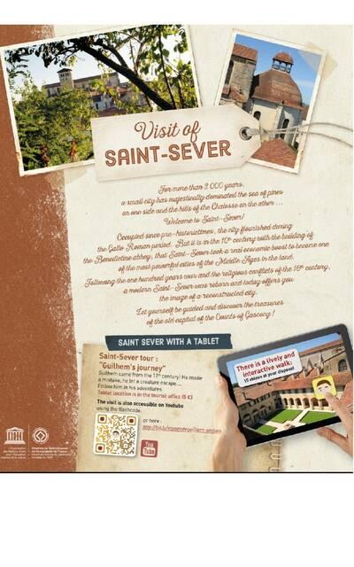 Visit of Saint-Sever