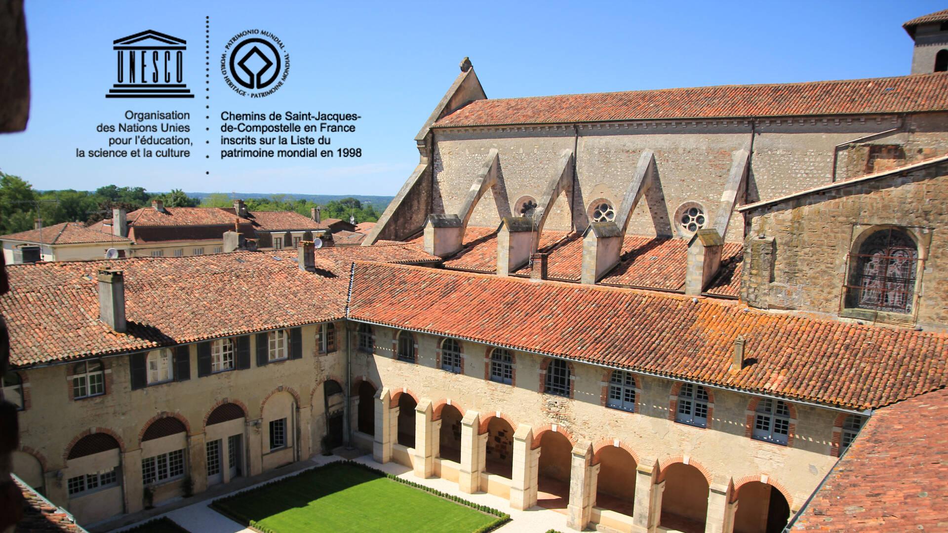 Abbaye de Saint-Sever classée Patrimoine mondial de l'UNESCO