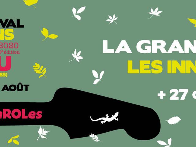 REPORTÉ   Festival Chansons et Mots d'Amou - 6,7,8,9 août 2020