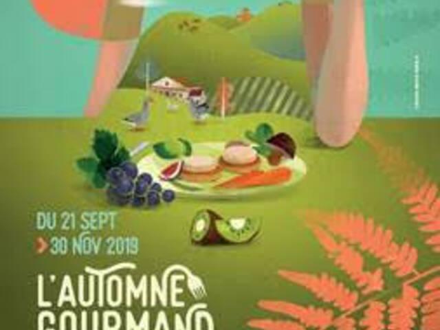 "Les animations ""Automne gourmand""en Landes Chalosse"
