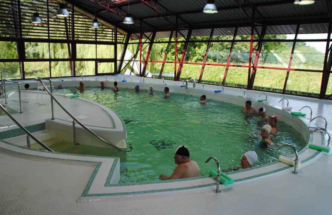 piscine thermale Préchacq