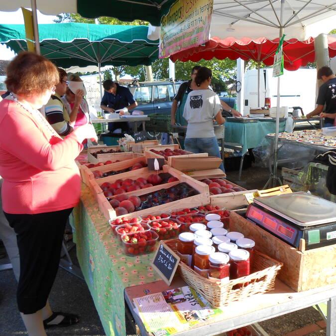 Marché des Producteurs de Pays à Montfort-en-Chalosse